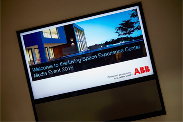 CIB EVENEMENTEN: ABB ORGANISEERT SUCCESVOL GLOBAL PRESS EVENT
