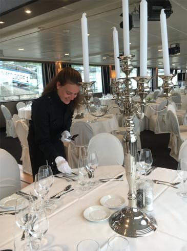 Diner op het water – event met 5 gangendiner op partyschip Jules Verne