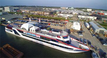 Nieuwe aanlegplek partyschip Nieuwegein (Utrecht)