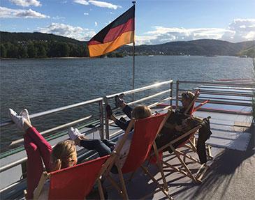 Feesten in Duitsland: bedrijfsfeest, Rhein in Flammen en Tour de France